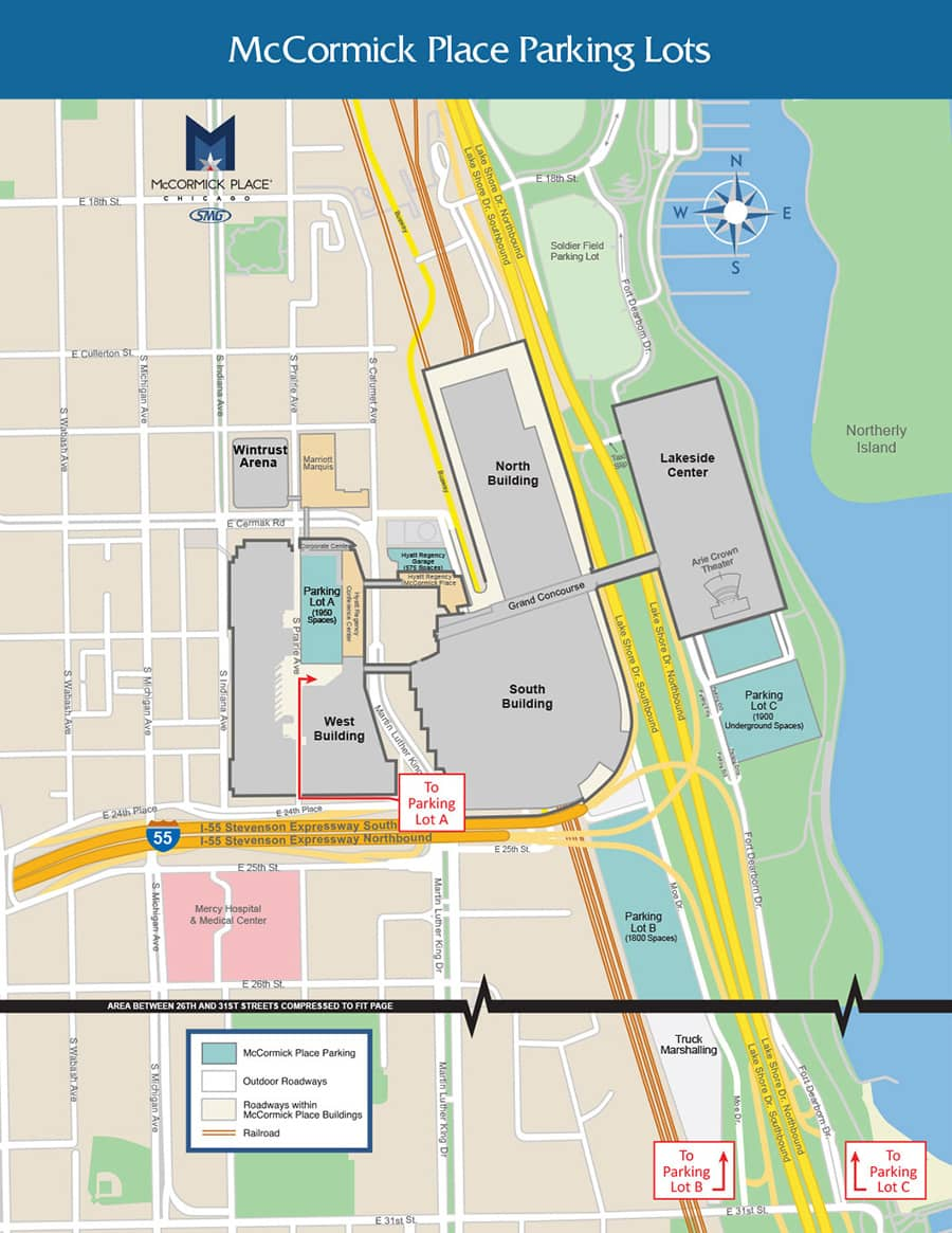 Mccormick Place Map Hotel and Travel | Come Find Your Tribe at Wakandacon