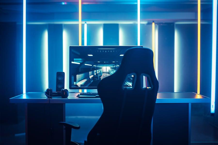 A gaming computer
