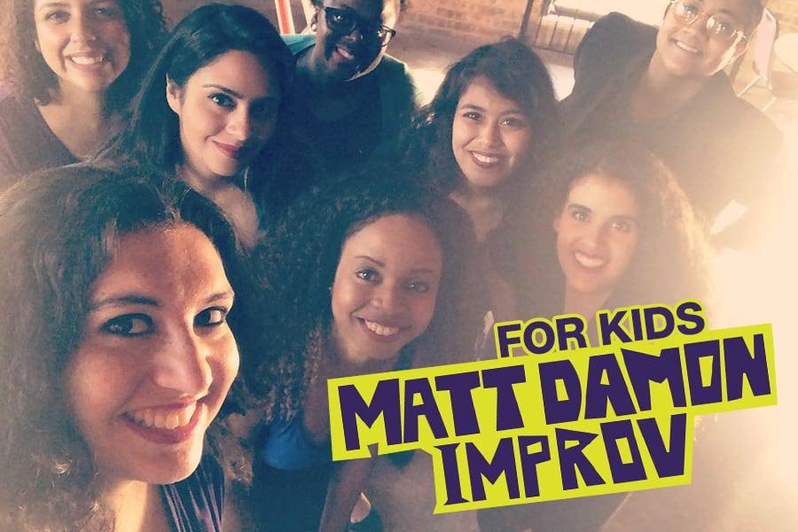 Matt Damon Improv for Kids